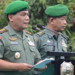 Kodam III/Siliwangi Gelar Penyerahan Pasukan Dari Letjen TNI Tri Soewandono Kepada Pangdam III/Siliwangi Mayjen TNI Nugroho Budi Wiryanto