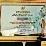Walikota Bandung Sabet Penghargaan Menteri ATR/BPN