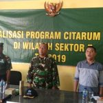 Kolonel Kav Purwadi Gelar Sosialisasi Program Citarum Harum di Desa Pengauban