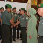 Pangdam Diwakili Kasdam III/Siliwangi Pimpin Laporan Korps Kenaikan Pangkat